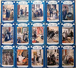 JEAN LOUP. Roman dramatique.: RICHEBOURG (Émile Jules)(1833-1898), Oswaldo TOFANI (1849-1915) et ...