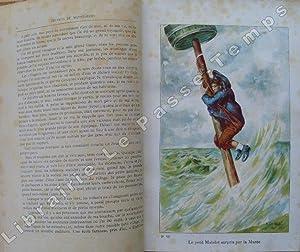 Oeuvres illustrées du Capitaine Mayne-Reid - VOYAGE A FOND DE CALE. Traduction et adaptation de ...