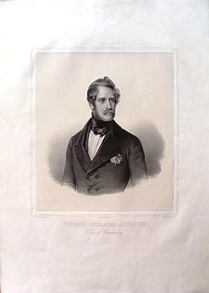 Frédéric Guillaume Alexandre, Duc de Wurtemberg.: Wurtemberg / WINTERHALTER (Franz ...