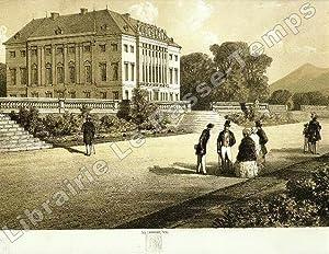 Châteaux du comte de Chambord (1820-1883) à Frohsdorf et Brunsée dans le land ...