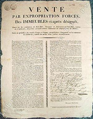 VENTE PAR EXPROPRIATION FORCÉE, DES IMMEUBLES ci-après désignés,Situ&...