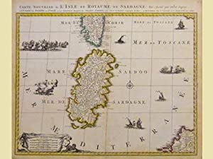 Carte nouvelle de l'isle et royaume de Sardagne.: SANSON N./ COVENS J. - MORTIER C.