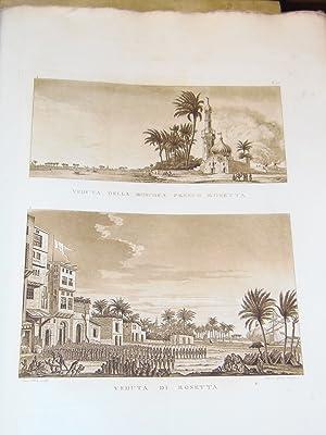 Viaggio nel basso ed alto Egitto. Illustrato dietro alle tracce e ai disegni del Sig. Denon. L&#x27...