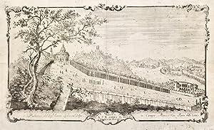 Veduta della B. V. M. sopra il Monte Berico di Vicenza.: DALL'ACQUA CRISTOFORO.