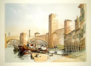 The Old Castle & Bridge at Verona