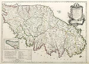 Carte particuliere de l'isle de Corse.: JAILLOT BERNARD ANTOINE - SANTINI FRANCOIS.