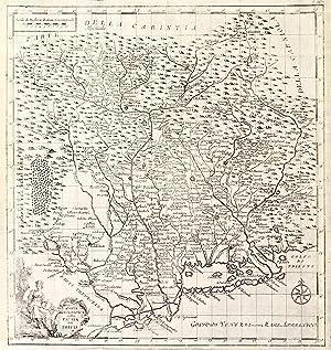 Carta geografica della patria del Friuli: SALMON TOMMASO.
