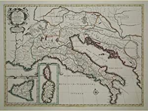 Antiquorum Italiae & Illirici Ödescriptio.: SANSON NICOLAS/COVENS - MORTIER.