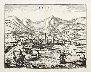 Fondi Petite ville de la Terre de Labour, Provence du Royaume de Naples.: MORTIER PIERRE.