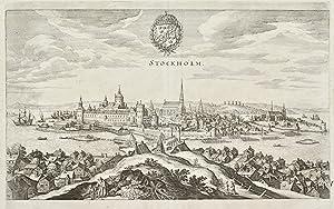 Hafnia metropolis et portus celeberrimus Daniae: MERIAN MATTHEUS