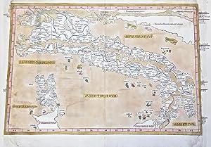 Italia antica (senza titolo): NICOLAUS GERMANUS.