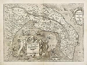 Terra di Otranto olim Salentina & Iapigia.: MAGINI GIOVANNI ANTONIO.