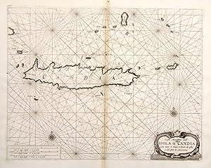 Coste marittime dellíisola di Candia con tutte: CORONELLI VINCENZO MARIA