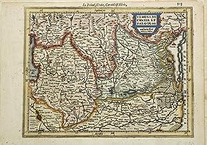 Verona, Vicentiae et Pataviae.: MERCATOR GERARD - HONDIUS JODOCUS.