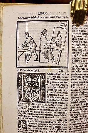 Historia naturale di Caio Plinio Secondo di: PLINIUS SECUNDUS CAIUS