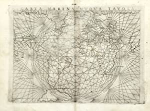 Carta marina nuova tavola: GASTALDI GIACOMO/RUSCELLI GIOVANNI