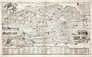 Pianta di Roma come si trova al: CRUYL LIEVIN