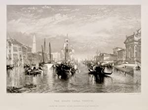 The Grand Canal Venice