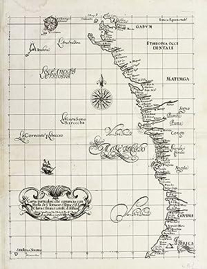 Carta particolare che comincia con l'isola di: DUDLEY ROBERT -