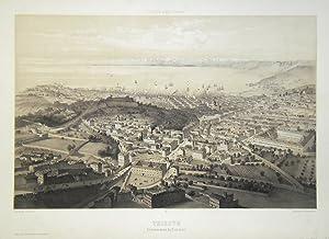 Trieste, vue prise au dessus du Lazaret: GUESDON ALFRED