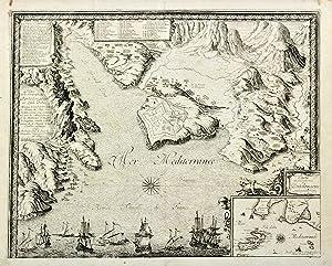 Carte du Gouvernement de Portolongone.: BEAULIEU SEBASTIEN DE PONTAULT.