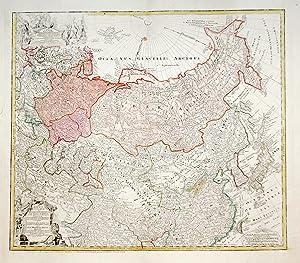 Imperii Russici et Tatariae universale.: HOMANN EREDI.