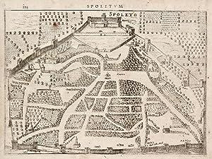 Spoletum - Spoleto.: HONDIUS JODOCUS.
