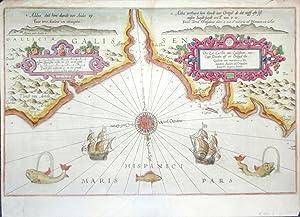 Die Zee Custen van Galissien, van Capo: WAGHENAER LUCAS JANSZOON.