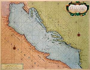 Zee-Kaarte van de Golf van Venetien.: LOOTSMAN JACOB