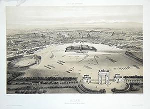 Milan, vue prise au dessus de l'Arc: GUESDON ALFRED.