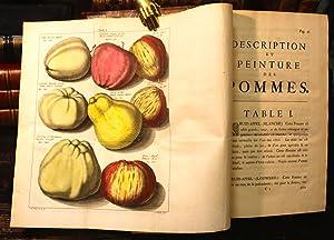 Pomologie ou description des meilleures sortes de pommes et de poires, que l'on estime & ...