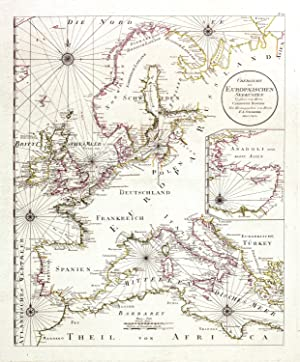 Uebersicht der Europaeischen Seekuesten.: BOWLES C./SCHRAEMBL F.A.