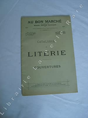 Au Bon Marché. Catalogue de literie - Couvertures.