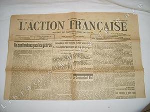 L'Action Française. Vendredi 28 juillet 1916. N° 210
