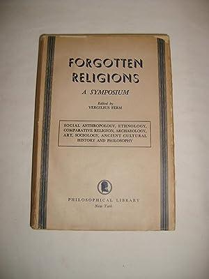 Forgotten religions. A symposium. (Including some living: FERM (Vergilius)