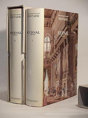 Journal 1799-1853.: FONTAINE (Pierre-François-Léonard)