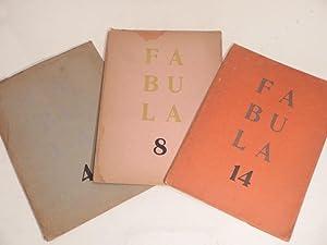 Fabula. Cuadernos de literatura y arte. N°: FINGERIT (Marcos, dir.),