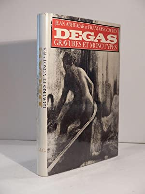 Edgar Degas : gravures et monotypes.: ADHEMAR (Jean), CACHIN