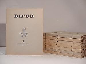 BIFUR 1-8.: RIBEMONT-DESSAIGNES, GOLL (Ivan),