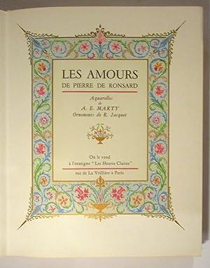 Les Amours de Pierre de Ronsard. Les: de RONSARD (Pierre),