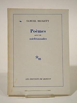 Poèmes Suivi de Mirlitonnades.: BECKETT (Samuel)