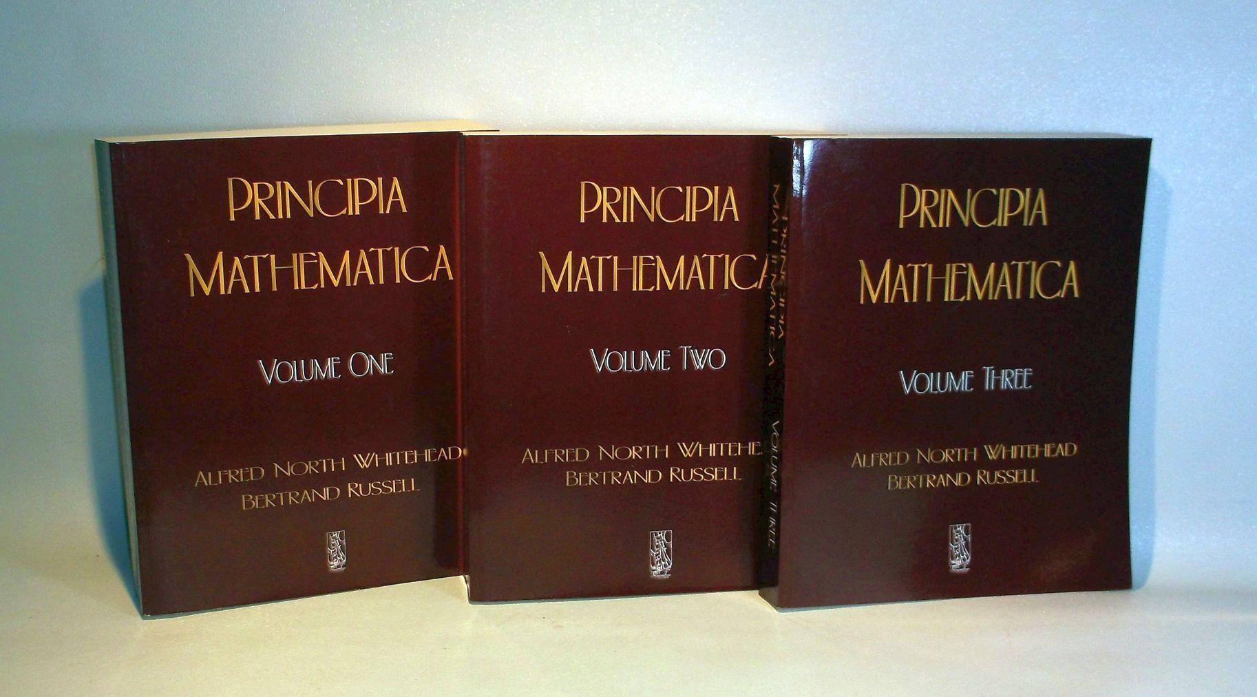 Whitehead & Russell Principia Mathematica Vol. I II III pdf