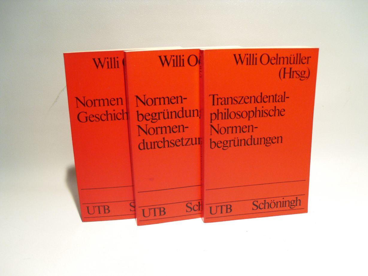 Materialien zur Normendiskussion 1, 2 Und 3 ( 3 BÄNDEN )