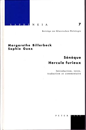 Sénèque: Hercule furieux.: BILLERBECK, Margarethe /