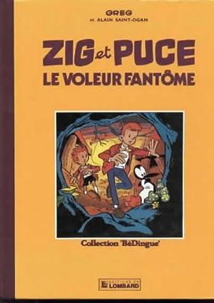 Zig et Puce, - Le voleur fantôme: GREG / SAINT-OGAN Alain