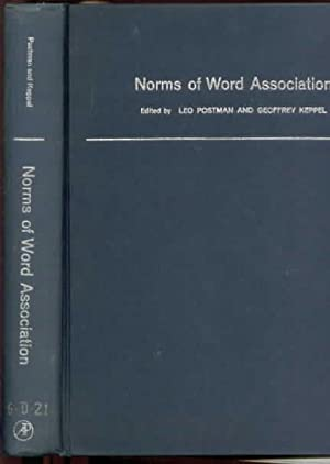 Norms of Word Association