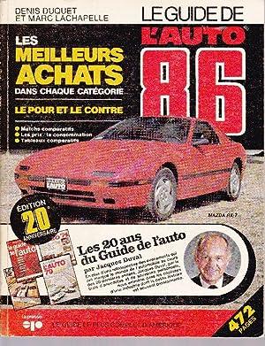 Le guide de l'auto 86: DUVAL, Jacques