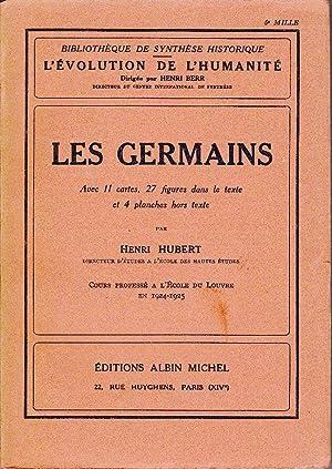Les Germains.: HUBERT, Henri