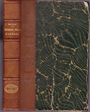 Dernière prose d'Almanach. (Darriero Proso d'Armana): MISTRAL, Frédéric