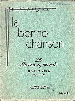 La Bonne Chanson VOLUME 3.: GADBOIS, Charles-Émile (ptre)